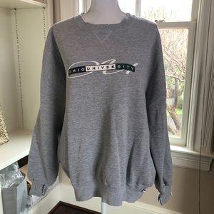 Vintage Ohio university sweatshirt